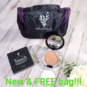 Younique Makeup Touch Stick Foundation And Kabuki Brush